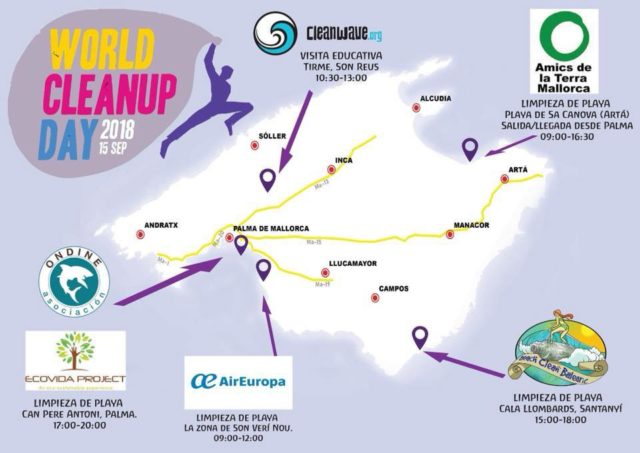 World Cleanup Day Mallorca