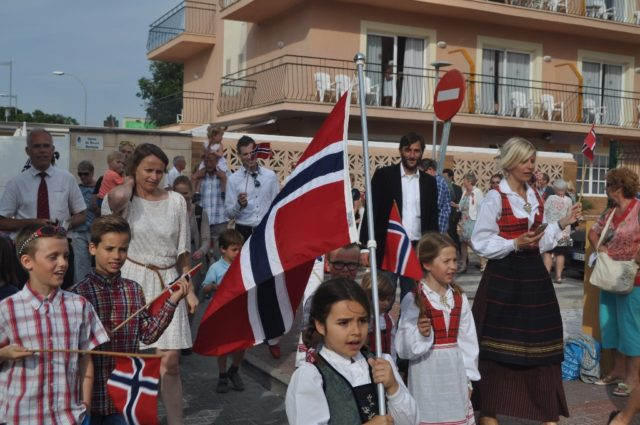 Norges nationaldag Mallorca